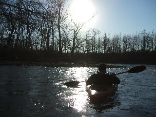 Kayak on Salt Fork